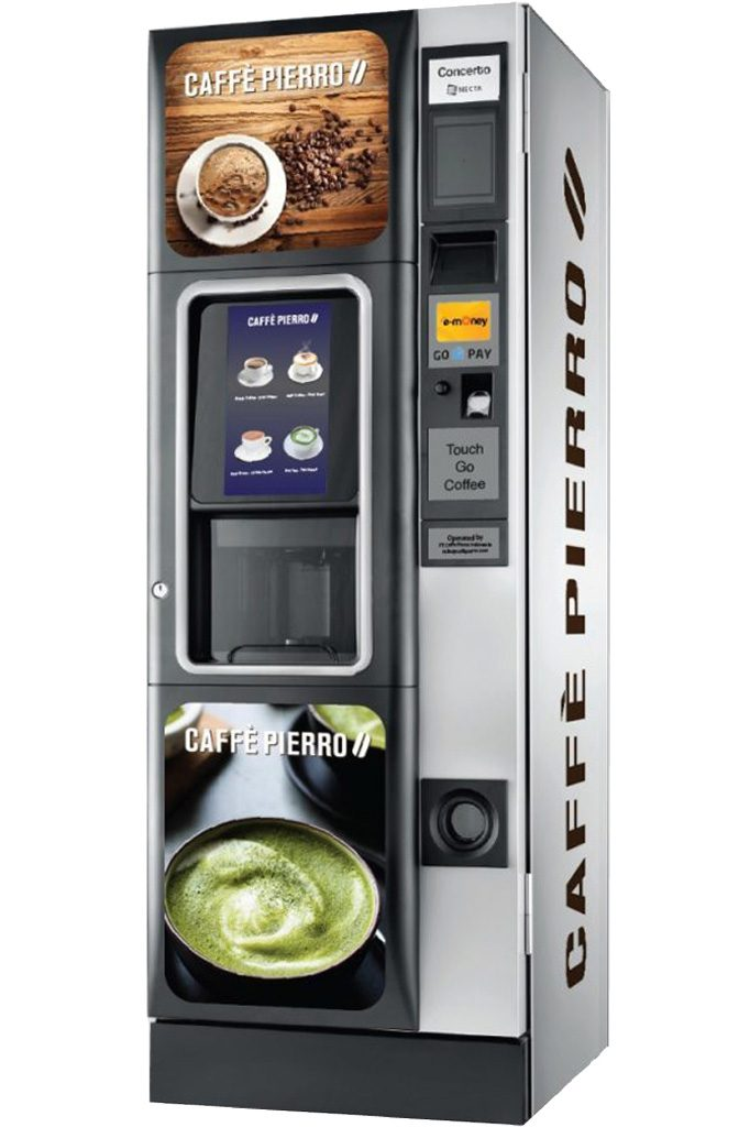 Caffe Pierro World Class Coffee Vending Machines